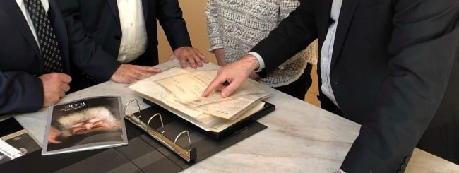June 2021: Glimpse Into Rebbe's Holocaust Correspondence Discovered in a Basement