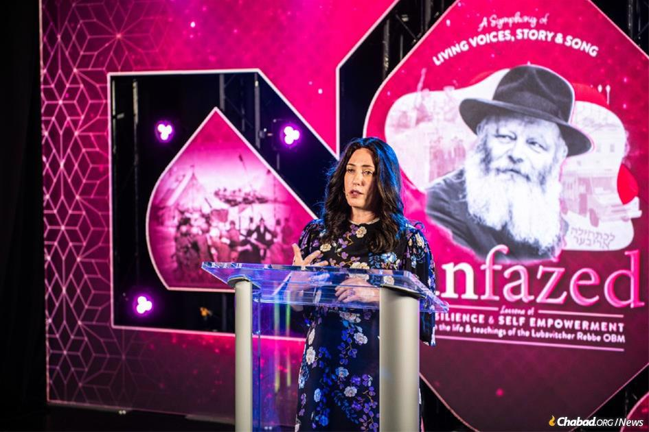 Dina Hurwitz, whose husband, Rabbi Yitzi Hurwitz was immobilized by ALS, spoke candidly and openly about the challenges she faces and how she and her family have managed to rise above the pain and uncertainty that is now part and parcel of their lives.