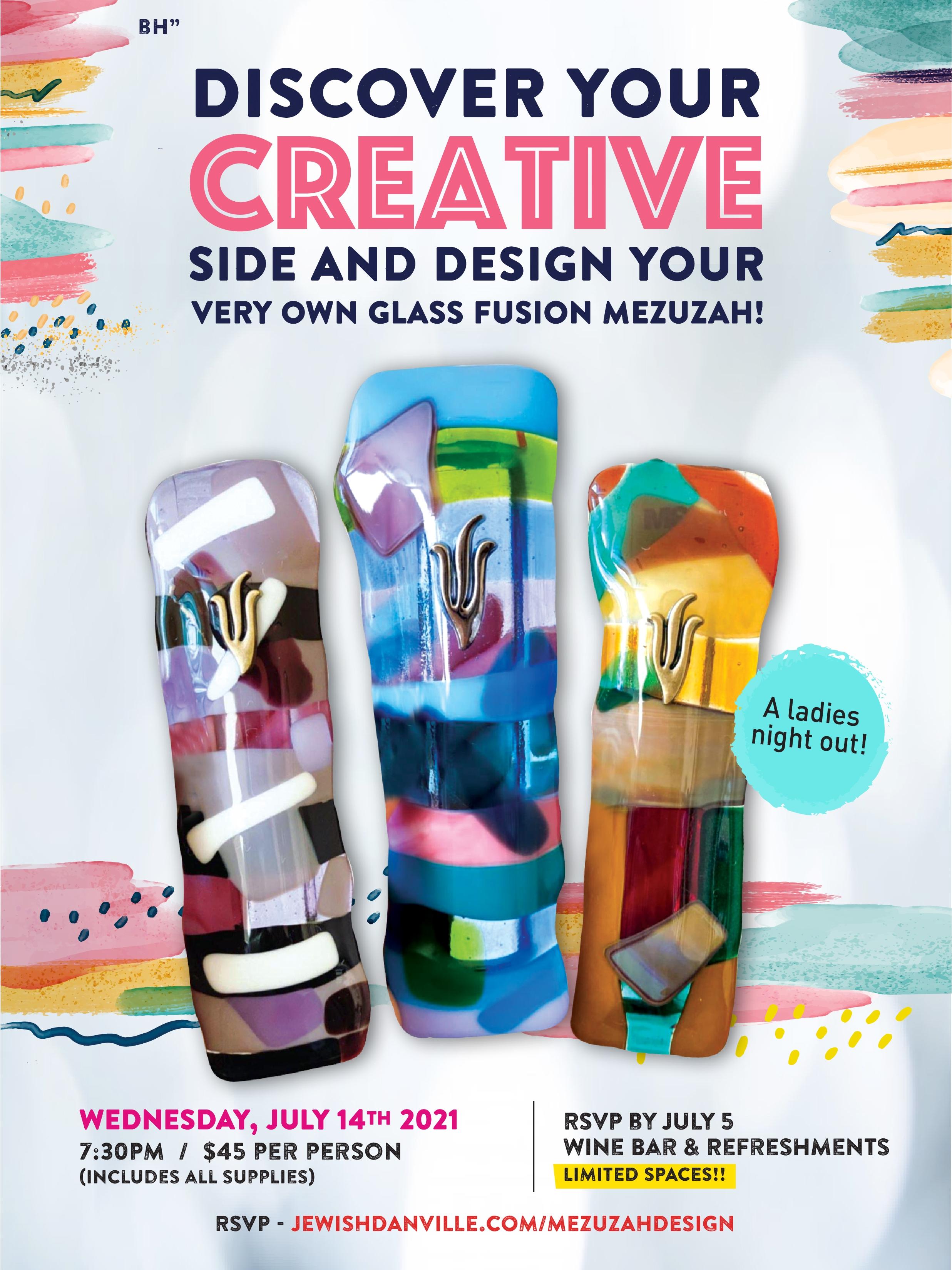 Glass Fusion Mezuzah Workshop