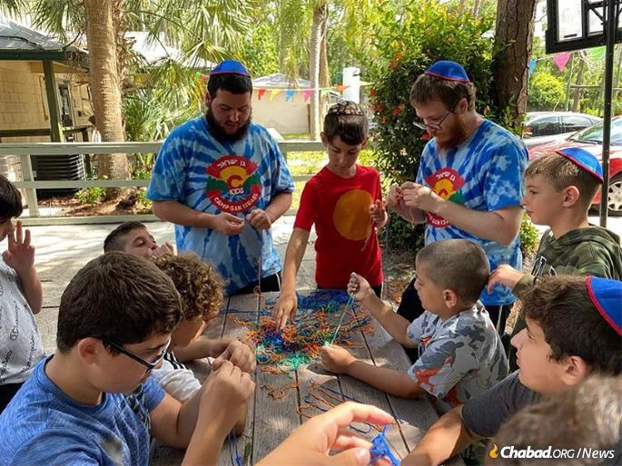 The camp's positive energy and dedicated staff have quickly become some of the trademarks of CKids Gan Israel.