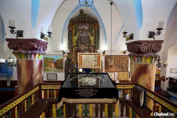 The Ari Ashkenazi synagogue (credit: David Cohen/Flash90).