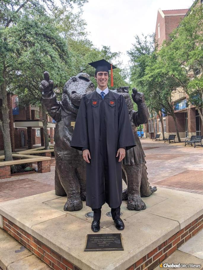 Rodan at his graduation a few months ago.