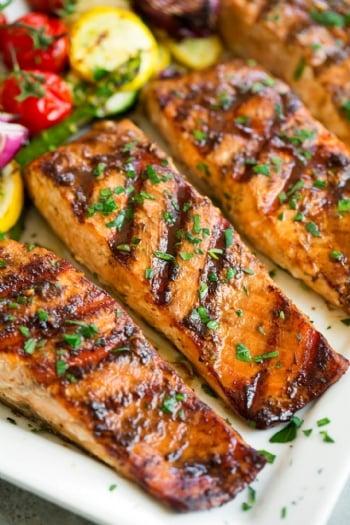 Community Grilled Salmon & Torah