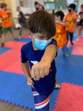 Summer 2021 - Week 2: Martial arts, archery, lego robotics