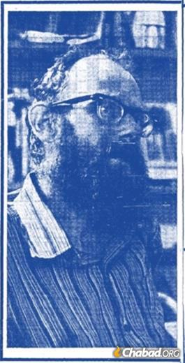 """""""Portrait of a Sabra as a Young Rabbi,"""" as published in Davar September 12, 1969."""