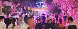 Dancing Through the Streets with the Torah in the Heart of Tel Aviv
