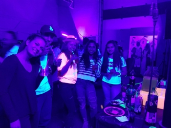 Glow in the Dark Teen Purim Party 2018!