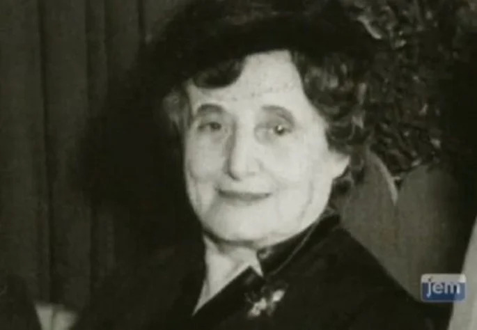 Rebetsin Chana Schneerson, esposa de Rabi Levi Yitzchak