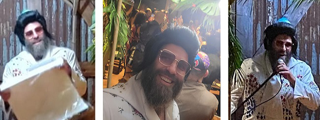 August 2021: Why This Rabbi Performed a Wedding in Costume