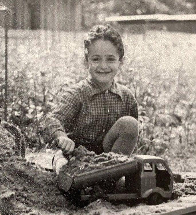 Vova as a child.