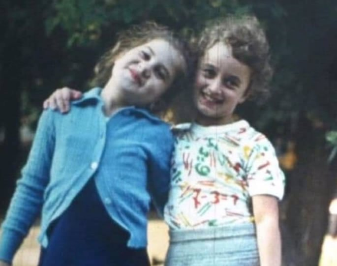 Alla and I in the early '80s.
