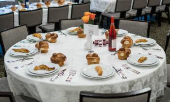 Club 45 - Sponsor Shabbat meals at Chabad