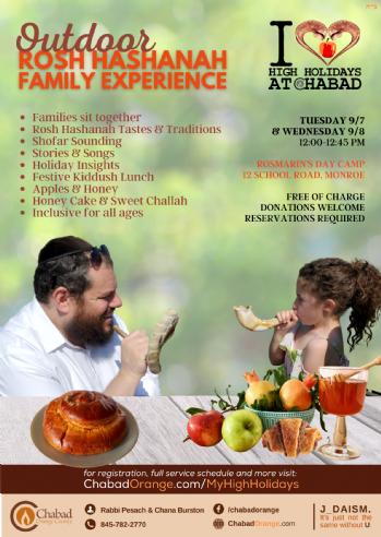 Outdoor Rosh Hashanah Experience (Short)