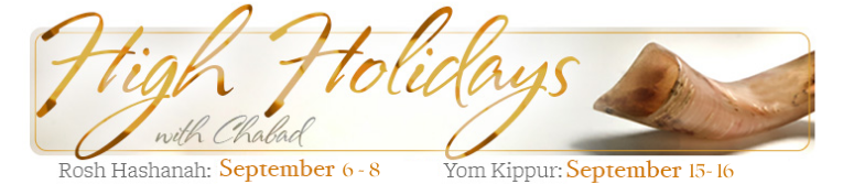 High Holidays with Chabad