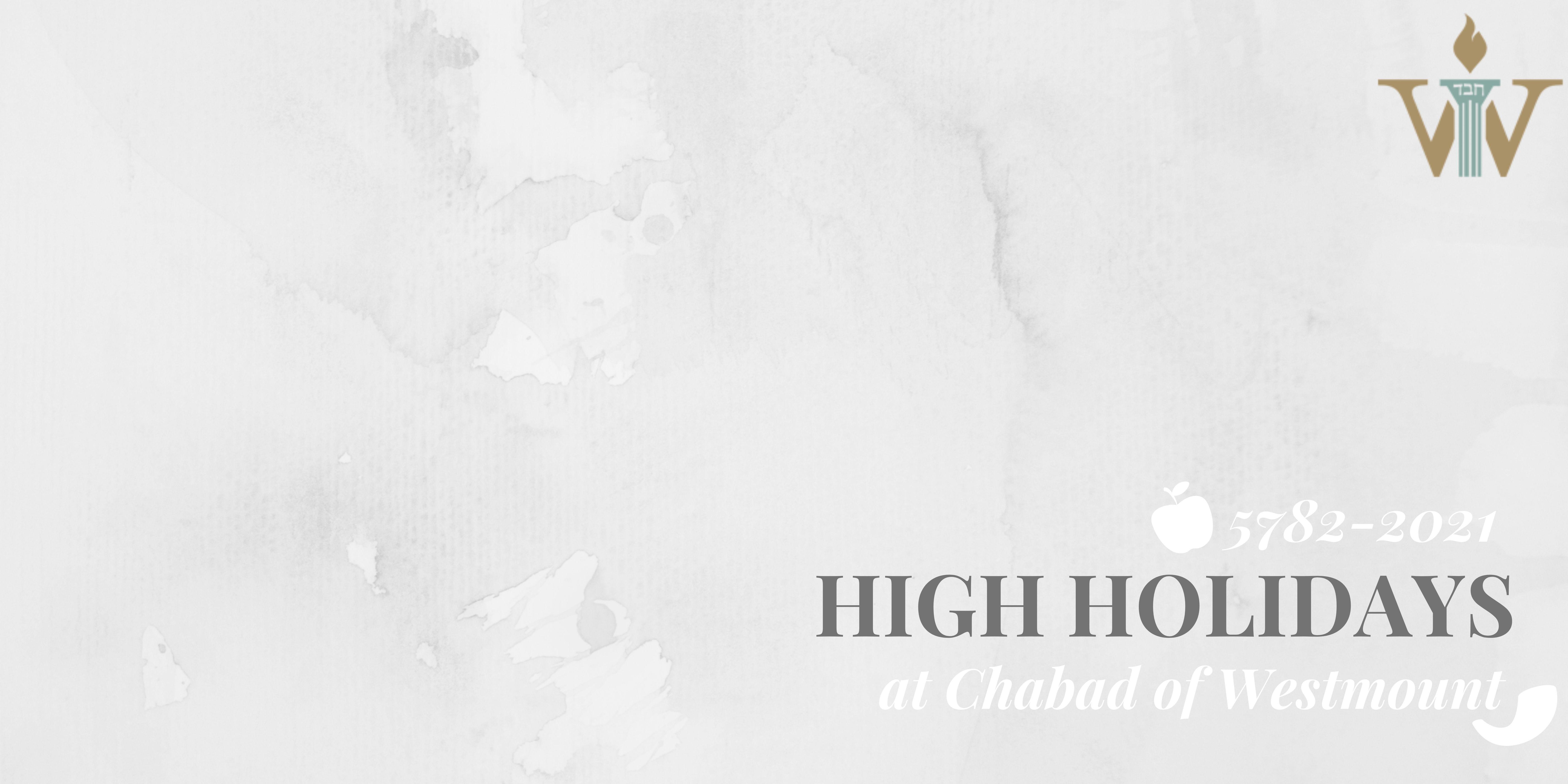 High Holidays | Chabad Westmount