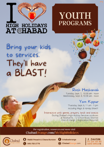 Rosh Hashanah Youth Programs
