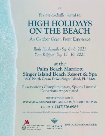 High Holidays on the Beach