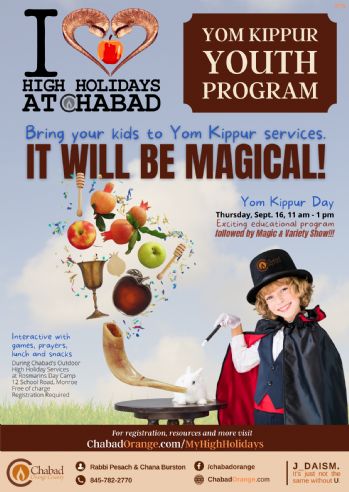Yom Kippur Youth Program