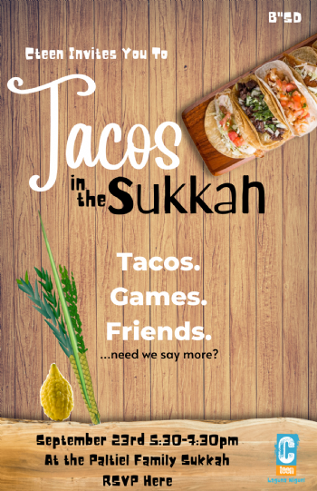 Tacos in the Sukkah RSVP