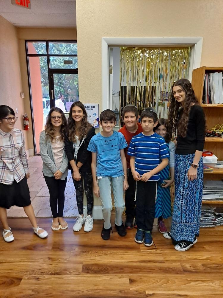 Welcome Back to Hebrew School 2021