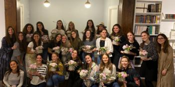 Pre Shavuot Floral Workshop