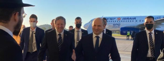 Untitled: Chabad Makes Unexpected Shabbat in Sochi for Israel's Prime Minister Bennett