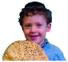 Boy with Matzah