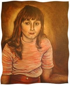 A painting of Tracey