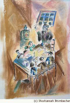 """""""Cheder"""" by chassidic artist Shoshannah Brombacher"""