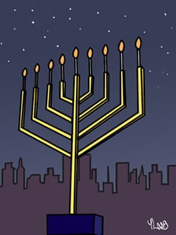 How To Light The Menorah Light Up Your Environment Chanukah Hanukkah