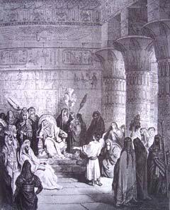 """Joseph Interpreting Pharaoh's Dreams"" by Gustave Dore"