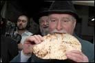 Polish Leader's VIP Tour Stops by Matzah Factory in Kfar Chabad