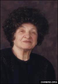 Taibel Lipskier later in life