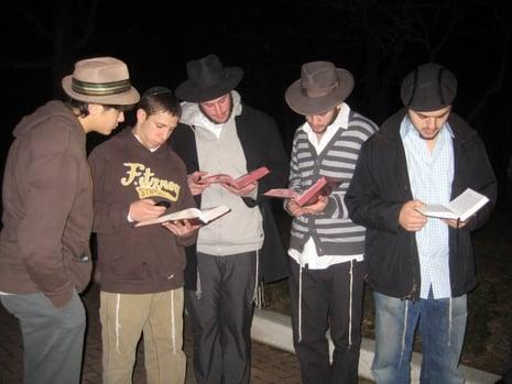 Bais Menachem kiddush levana.JPG