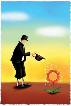 ילדים הם כמו פרחים. אם משקים ומטפלים באהבה הם יגדלו לתפארה