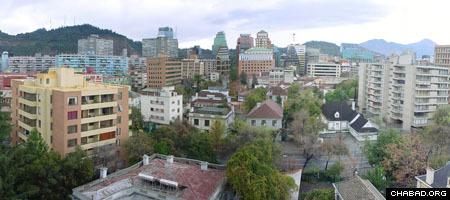 A view of the Providencia neighborhood in Santiago, Chile (Photo: David Basulto)