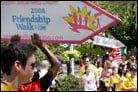 Friendship Circle Walk Brings Smiles to Volunteers and Their Charges