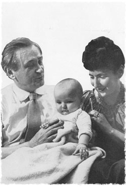 Lipchitz avec sa femme Yulla et sa fille Lolya