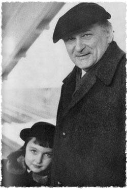 Lipchitz et sa seule enfant Lolya