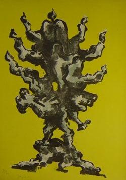 Une adaptation de Notre Arbre de Vie de Lipchitz, représentant l'histoire du peuple juif. Une centaine d'épreuves de la lithographie furent présentées au Rabbi.