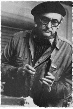 Jacques Lipchitz au travail