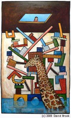 """Giraffe Dreaming"" by David Brook"