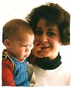 Pinchas Eliyahu and Mom