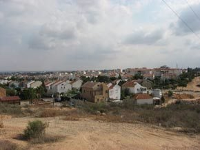 The town of Sderot, Israel