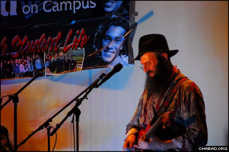 The Yood Power Rock Trio made its American debut at a campus-based Chabad House. With an ever-expanding Israeli audience, the band took their spiritually-uplifting lyrics and unique guitar chords to Crown Heights, N.Y., on Nov. 8.