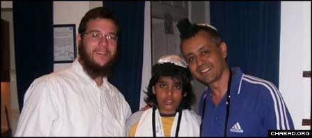 Rabbi Gavriel Holtzberg, left, is the co-director of Chabad-Lubavitch of Mumai, India. His safety and that of his wife, Rivka Holtzberg, is not assured following one of the worst terrorist attacks in India's history.