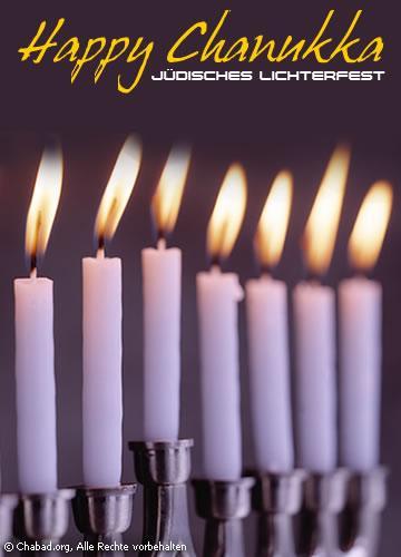 Jüdisches Lichterfest