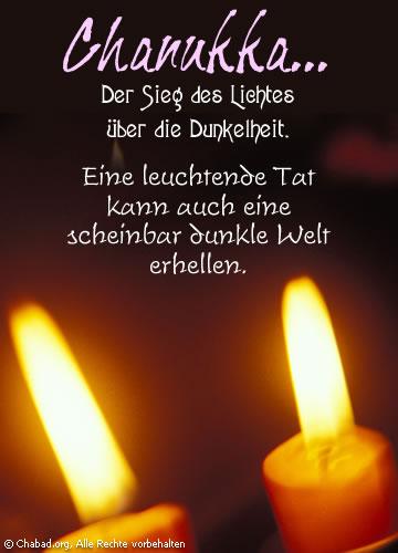 Licht über Dunkelheit