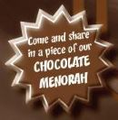 Chanukah In Chocolate Land