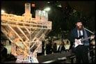 Central Park Celebrates Chanukah With Ice Menorah